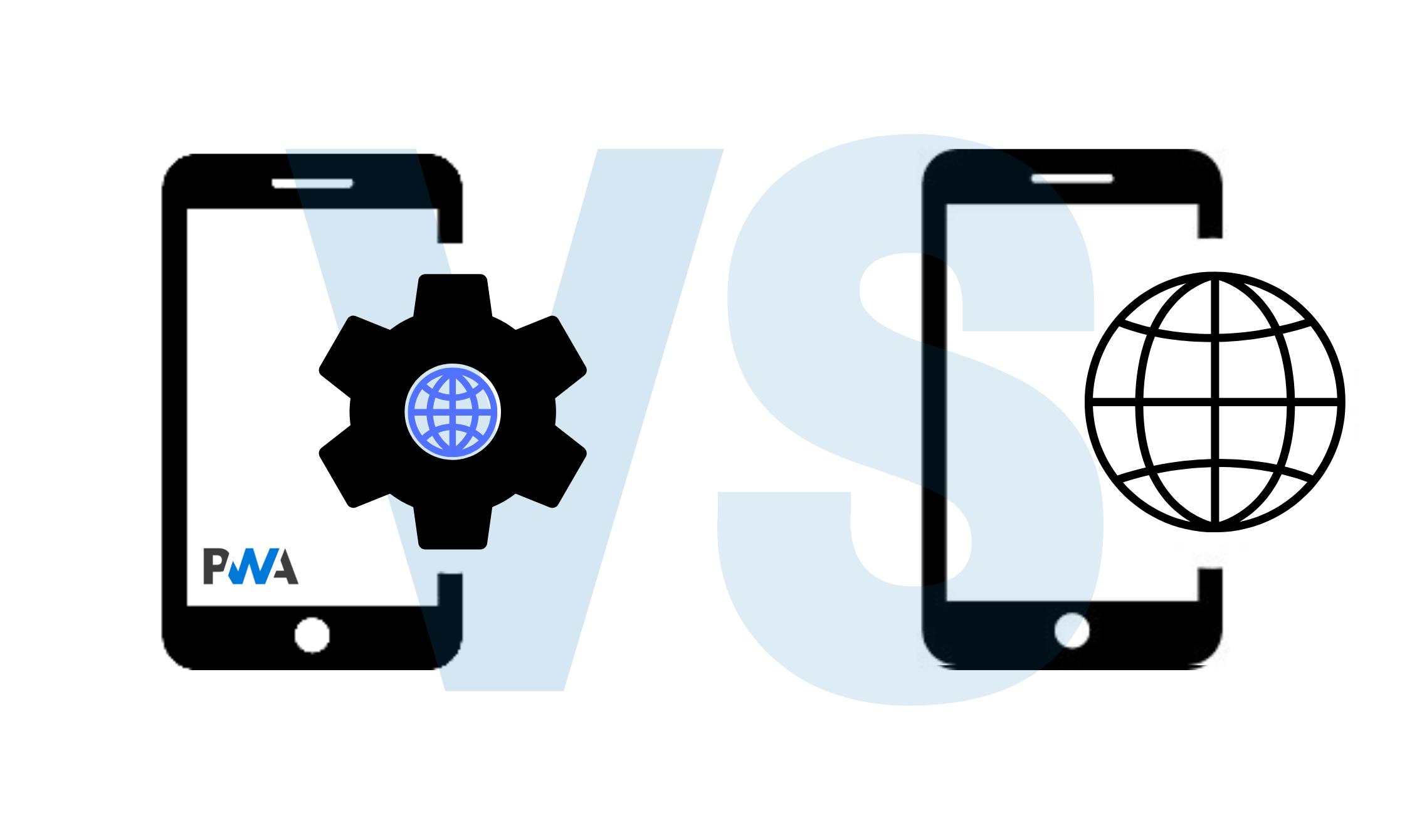 PWA pros vs mobile websites