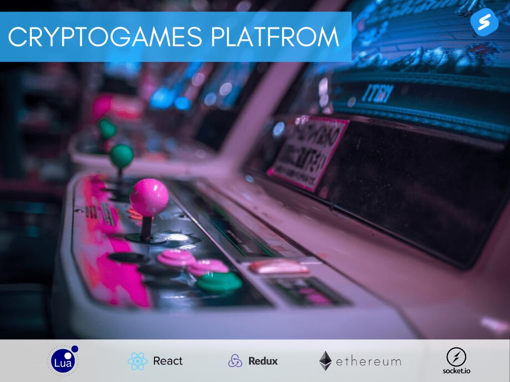 Cryptogames platform