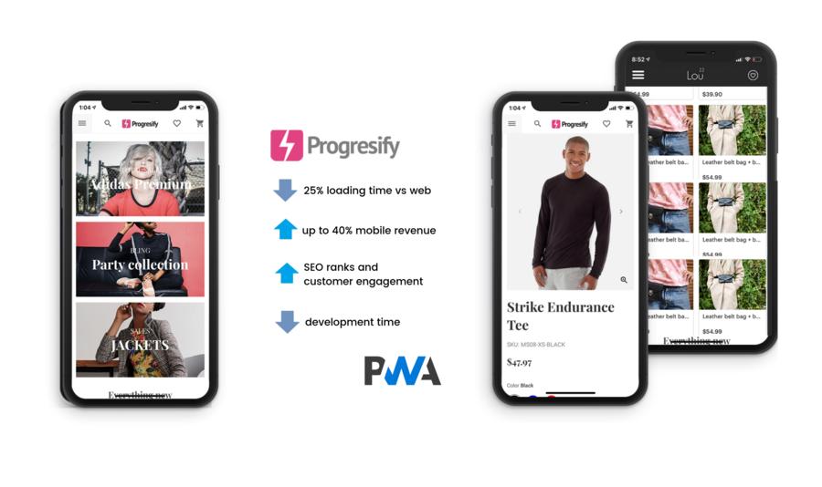 eCommerce Storefront Progresify