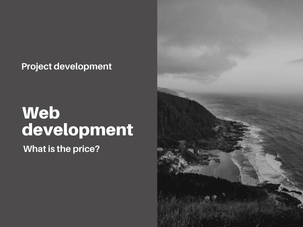 web-development-cost