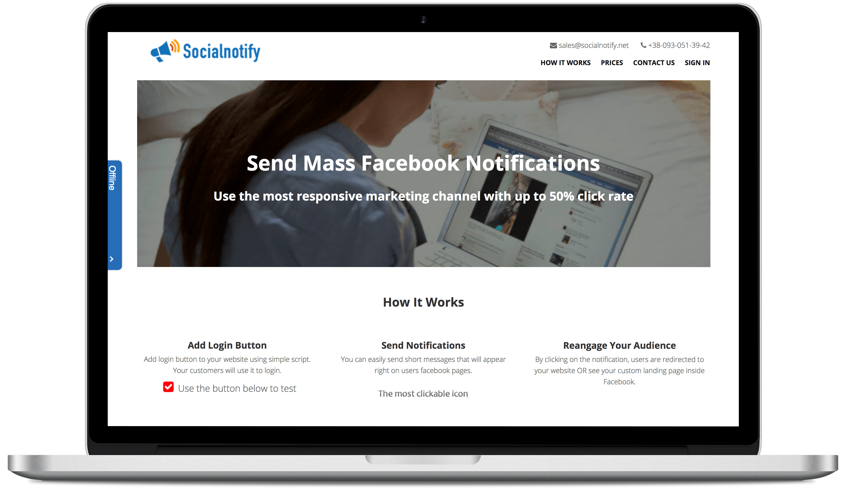 facebook-notification-service